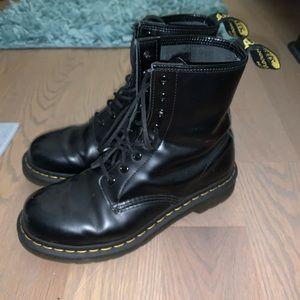 Doc Martens lace up boots
